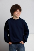 Sweat-shirt enfant personnalisable col rond Gildan