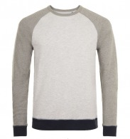 Sweat-shirt tricolore sandro