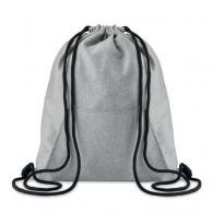 SWEATSTRING - Drawstring bag with pocket