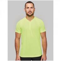 T-shirt 1/4 zip sport
