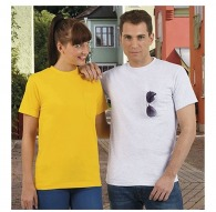 T-shirt publicitaire 1er prix avec poche