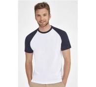 T-shirt bicolore raglan funky
