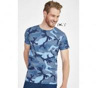 T-shirt camouflage Camo