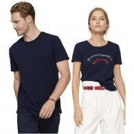 T-shirt classique logoté 150g made in france
