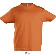 T-shirt col rond enfant couleur 190 g sol's - imperial kids - 11770c