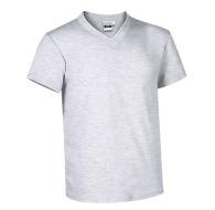 T-shirts col V avec marquage