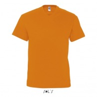 Tee-shirts col V publicitaire