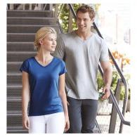 T-shirt col v personnalisable Gildan