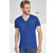T-shirts col V customisé