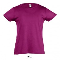 T-shirt enfant couleur 150 g sol's - cherry - 11981c