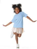 T-shirt enfant Gildan ash