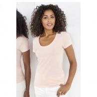 T-shirt femme personnalisable décolleté metropolitan