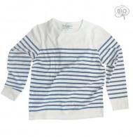 T-shirt ml marinière bio
