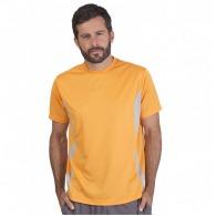 T-shirt sport personnalisable bicolore