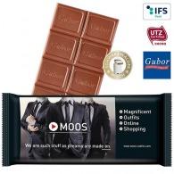 Tablette de chocolat personnalisable premium