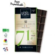 Tablette de chocolat personnalisée premium