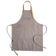 Tablier personnalisable de chef en toile épaisse