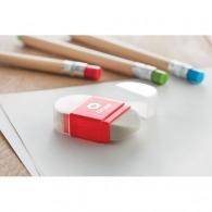 Taille-crayon personnalisé et gomme 2 en 1