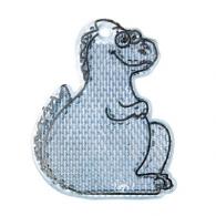 Talmu réflecteur personnalisé pièton dinosaure