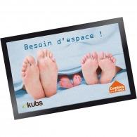 Tapis d'accueil publicitaires standard - format 60x80cm