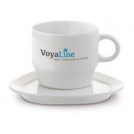 Tasse personnalisable en porcelaine girondins