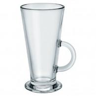 Tasse personnalisée en verre conique