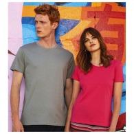 T-shirts en coton bio avec marquage