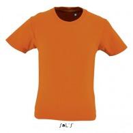 Tee-shirt enfant col rond manches courtes - milo kids