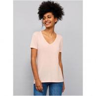 Tee-shirt femme fluide col V Motion