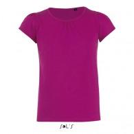 Tee-shirt fillette melody - couleur