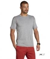 Tee-shirt bicolore avec logo