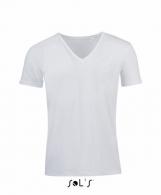 Tee-shirt col V avec personnalisation