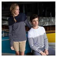 Tee-shirt marinière publicitaire unisexe ml