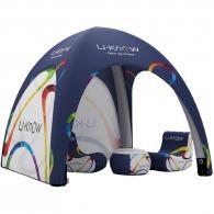 Tente personnalisable gonflable 5x5m