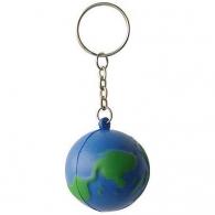 Porte-clés terre, globe et planète personnalisé