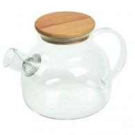 Tetera de cristal para té Matcha