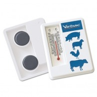 Thermomètre personnalisé avec support magnétique