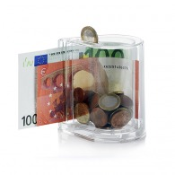 Tirelire coin & note