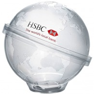 Tirelire personnalisable globe
