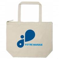 Tote bag personnalisable avec fermeture zippée new york