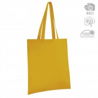 Tote bag couleur en coton bio