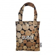 Tote bag full print mini city
