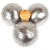 Triplette boules de pétanque obut personnalisées