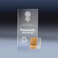 Trophée personnalisé gravure laser