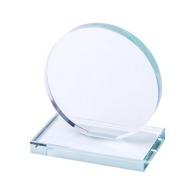 Trophées en verre avec logo