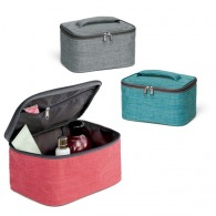 Trousse de toilette logotée chinée / Vanity case
