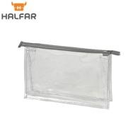 Trousse de toilette personnalisable transparente