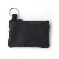 Trousseau de clés en cuir avec zip