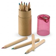 Tube 12 crayons de couleurs
