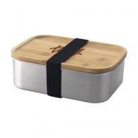 Lunchbox 110cl métal et bambou